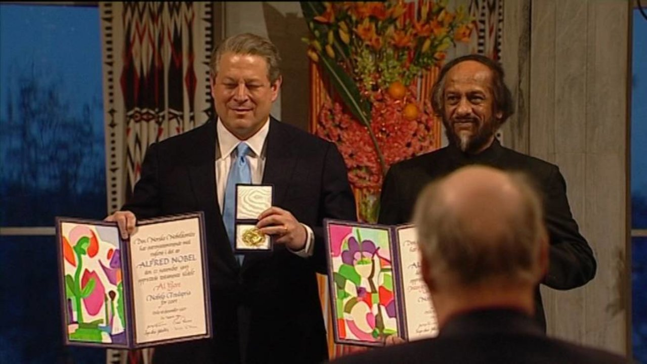 Al Gore - Prize presentation - NobelPrize.org