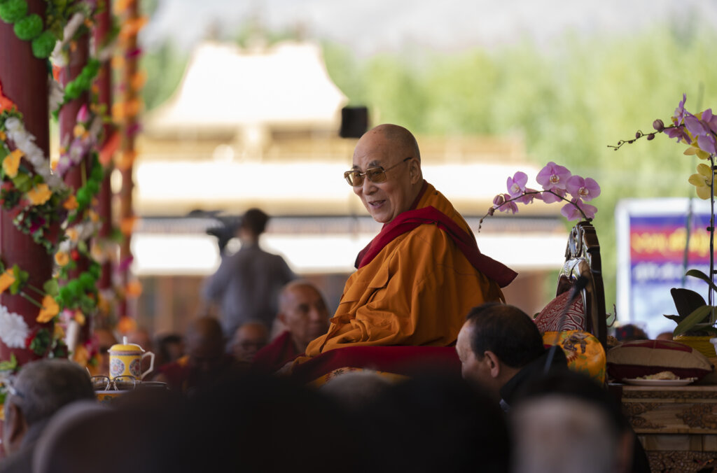 Dalai Lama on his 83rd birthday