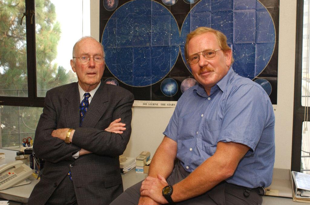 Reinhard Genzel & Charles Townes