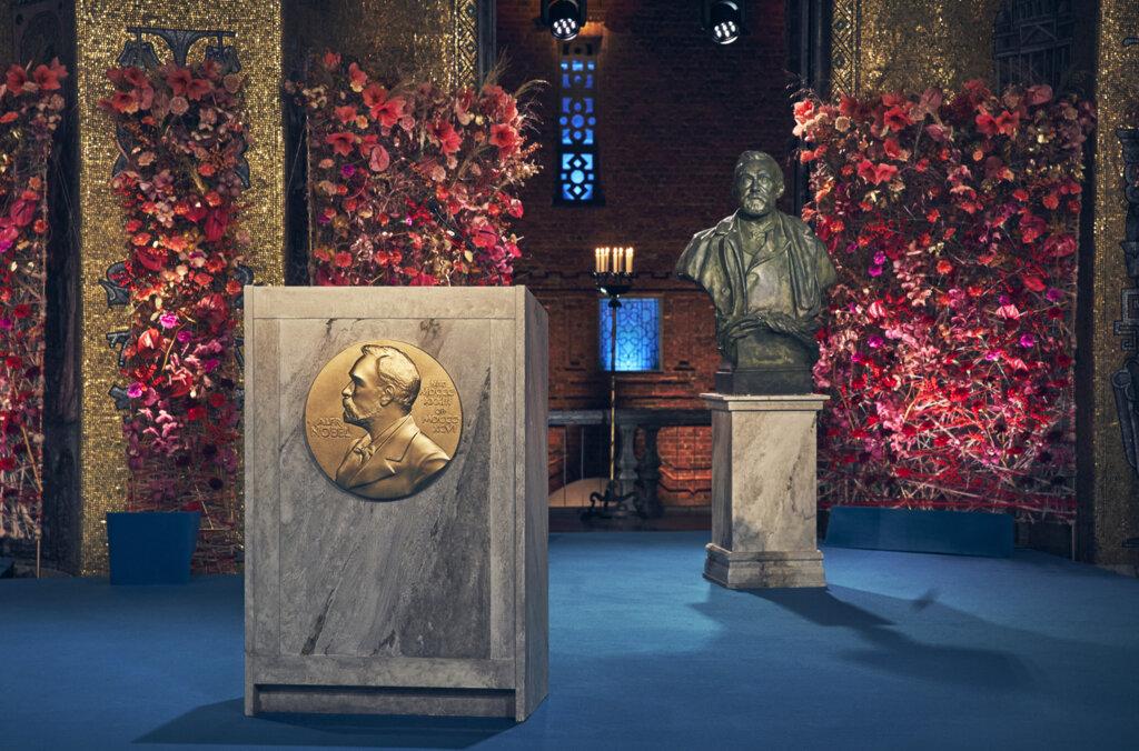 Nobel Prize award ceremony 2020