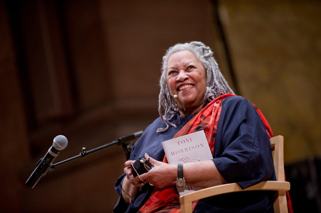 Toni Morrison in 2012