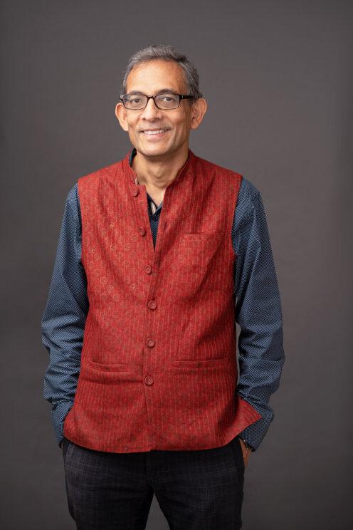 Abhijit headshot credit Bryce Vickmark