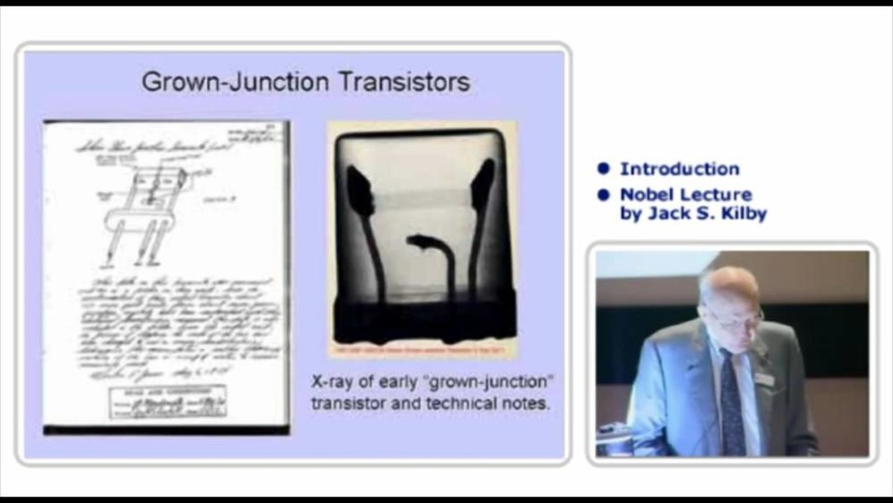 Jack Kilby Technology Integratedcircuitjpg Nobel Lecture Turning Potential Into Reality The Invention Of Integrated Circuit 1279x720