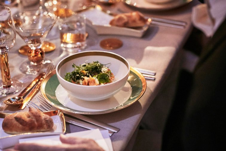 Food from the Nobel Banquet 2017