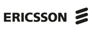 Partner logotype Ericsson black 2300x800