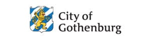 Partner logotype Region city of Gotheburg 3000x800
