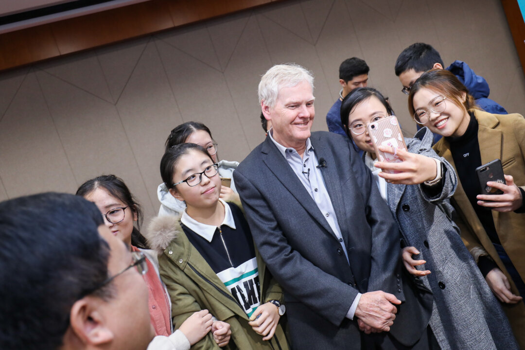 Nobel Prize Inspiration Initiative in Hefei, China, with Michael W. Young