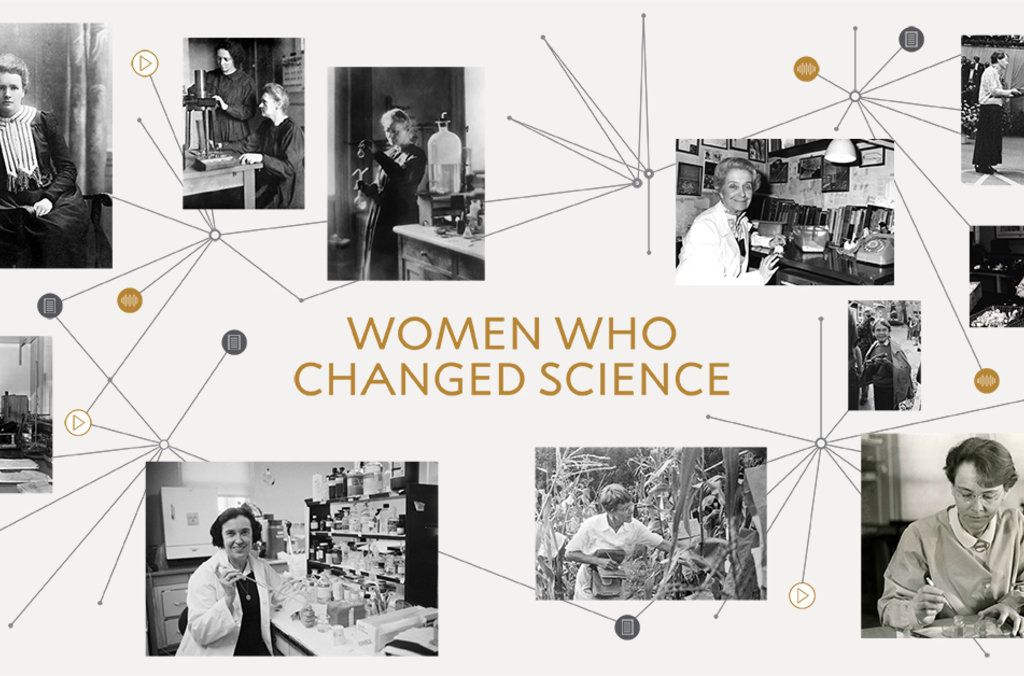 Women who changed science hero