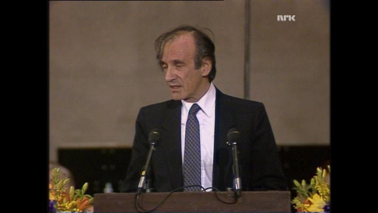 Elie Wiesel - Facts - NobelPrize org