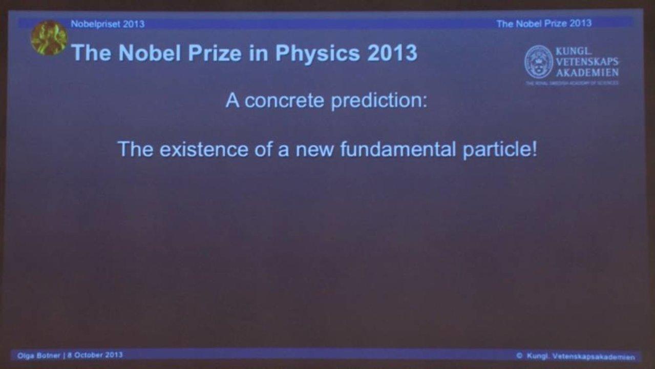 The Nobel Prize in Physics 2013 - NobelPrize org