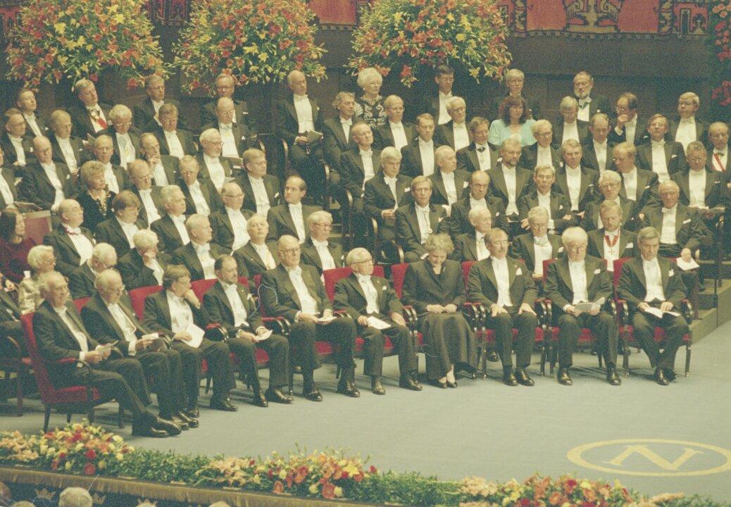 Nobel Prize award ceremony 1995