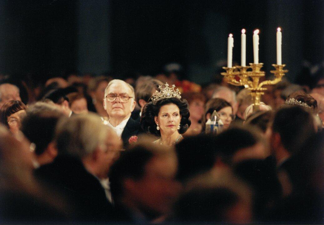 F. Sherwood Rowland at the Nobel Banquet