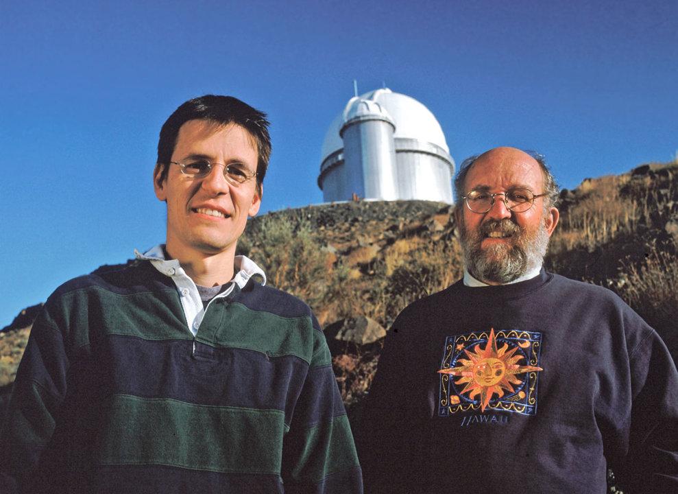 Michel Mayor and Didier Queloz