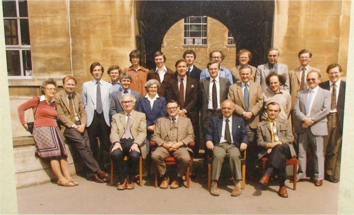 John B. Goodenough in Oxford, 1982.