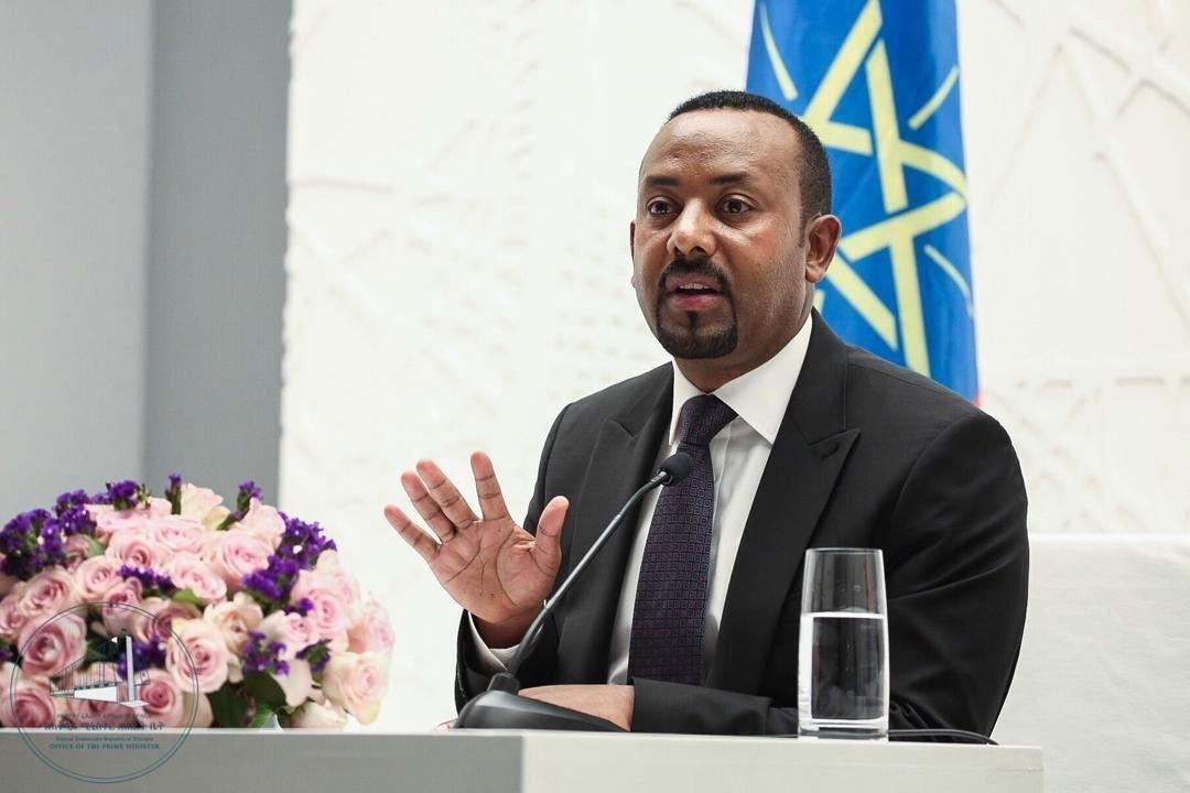 Nobel Peace Prize Laureate Abiy Ahmed Ali.