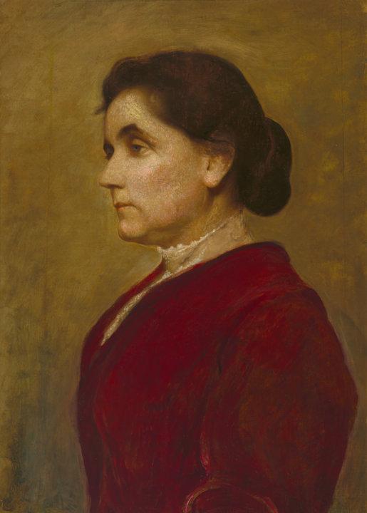 Painting of Jane Addams