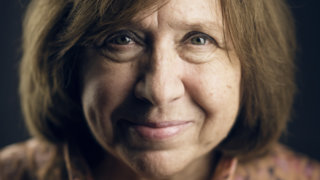 Svetlana Alexievich. Photo: A. Mahmoud.
