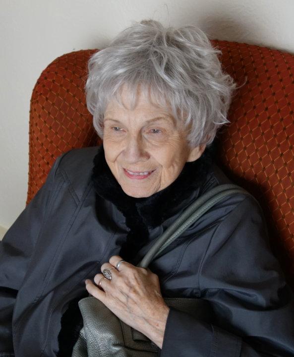 Alice Munro. Photo: Sheila Munro, Copyright © The Nobel Foundation