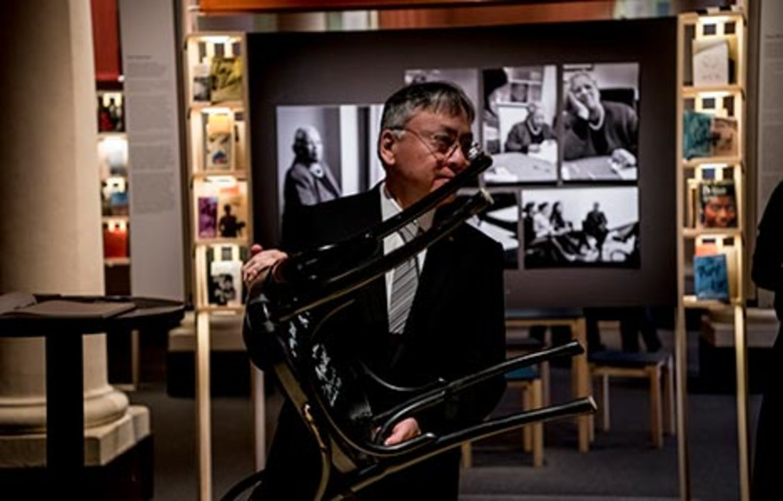 Kazuo Ishiguro at the Nobel Museum