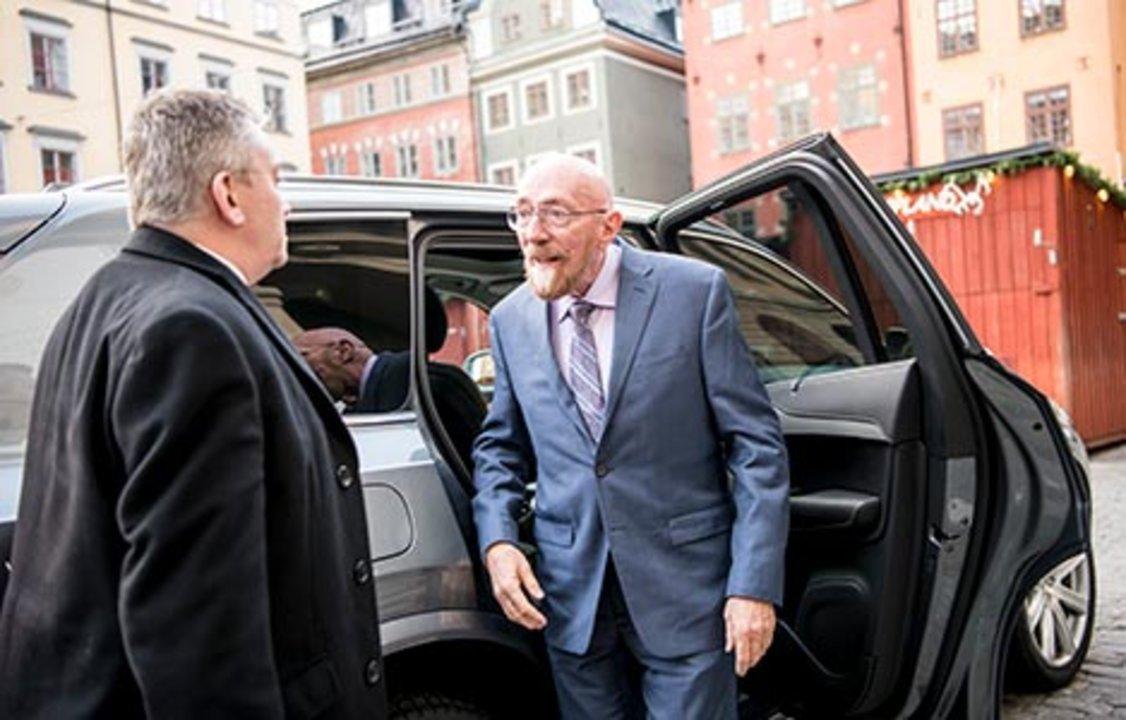 Kip S. Thorne arrives at the Nobel Museum