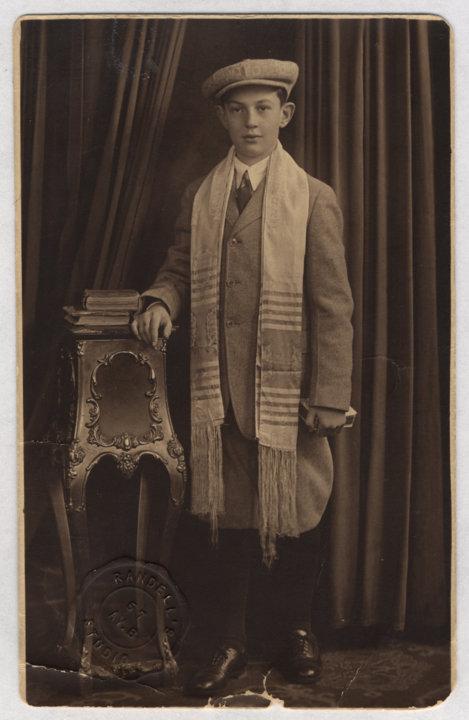 Julius Axelrod at Bar Mitzvah