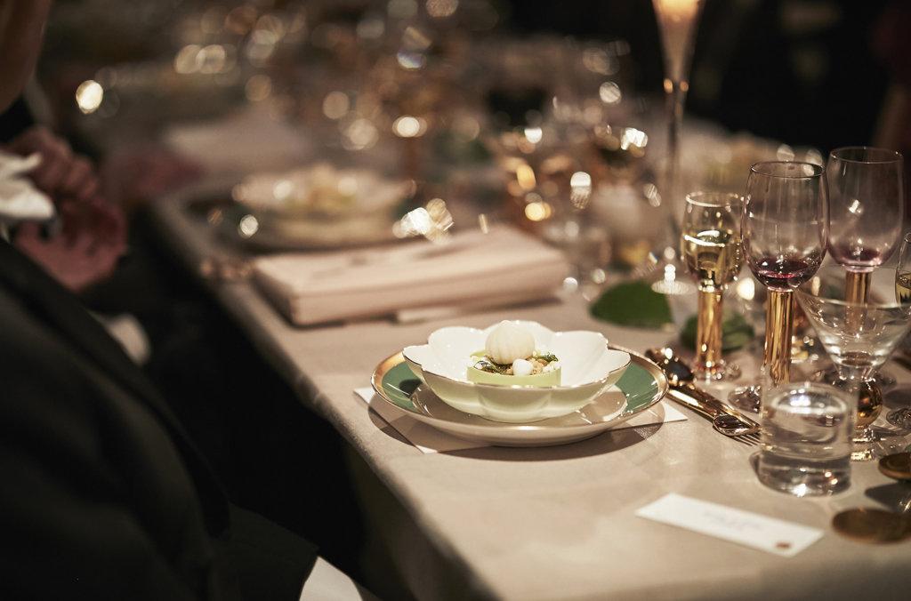 Nobel Banquet dessert 2018.
