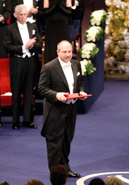 Bruce A. Beutler after receiving his Nobel Prize at the Stockholm Concert Hall