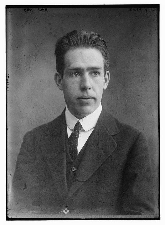 Portrait of Niels Bohr