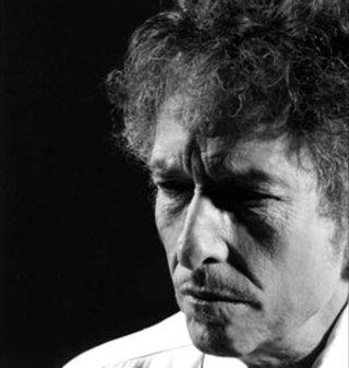 Portrait of Bob Dylan. Photo: William Claxton.