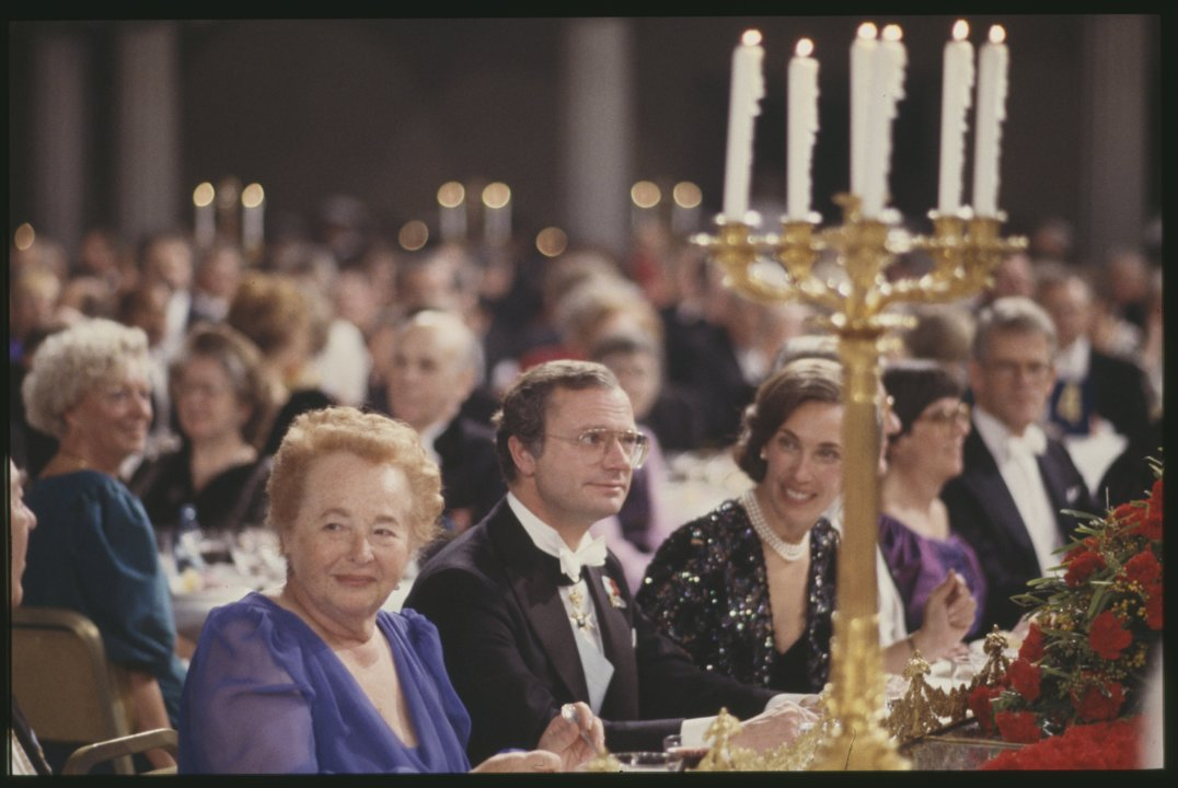 Gertrude B. Elion at the Nobel Banquet K 0002_ 032