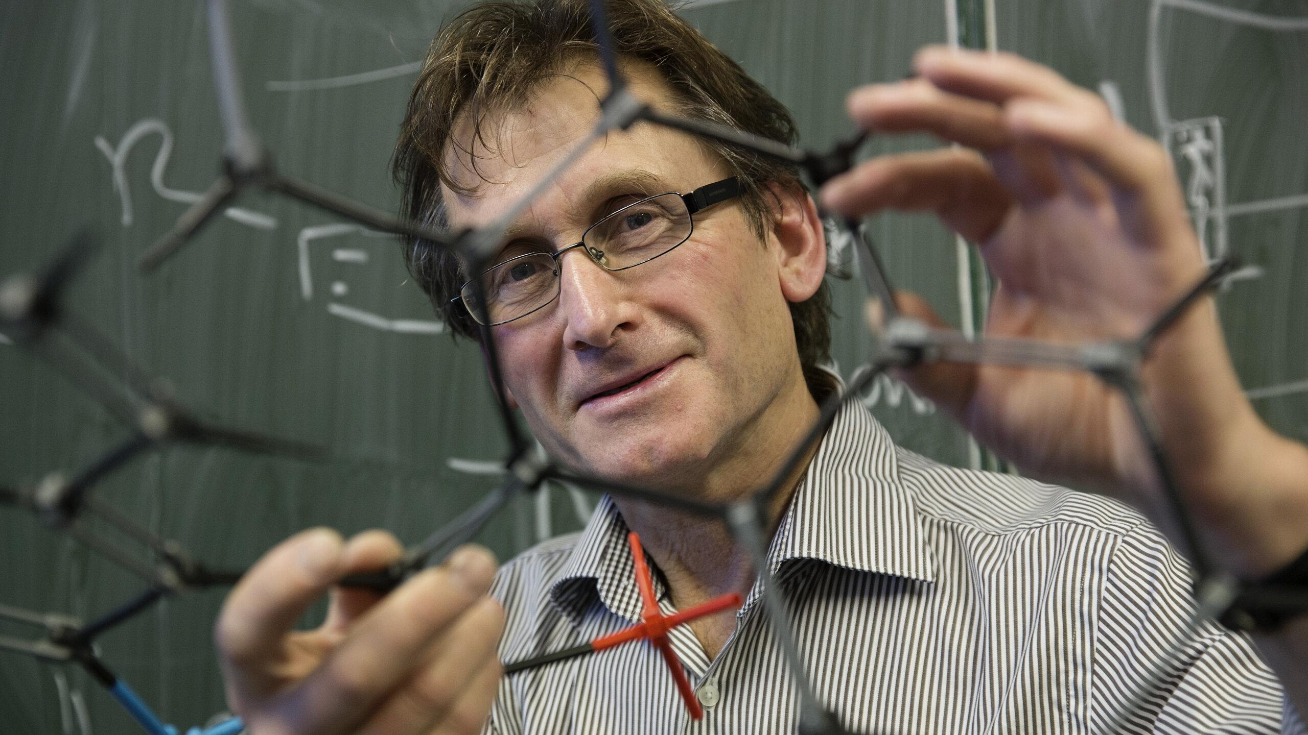 Bernard Feringa at Groningen University