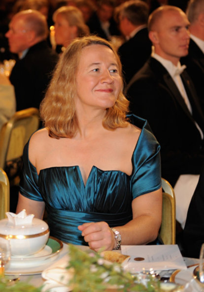 Carol W. Greider at the Nobel Banquet