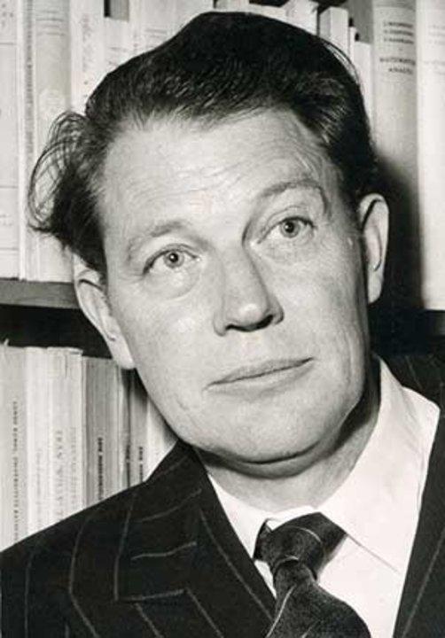 Harry Martinson. Photo by Harald Borgström. CC BY 3.0, via Wikimedia Commons