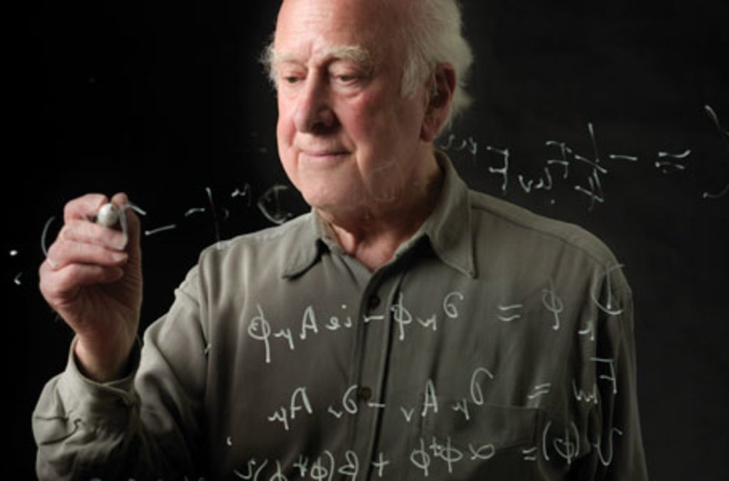 Portrait of Peter Higgs