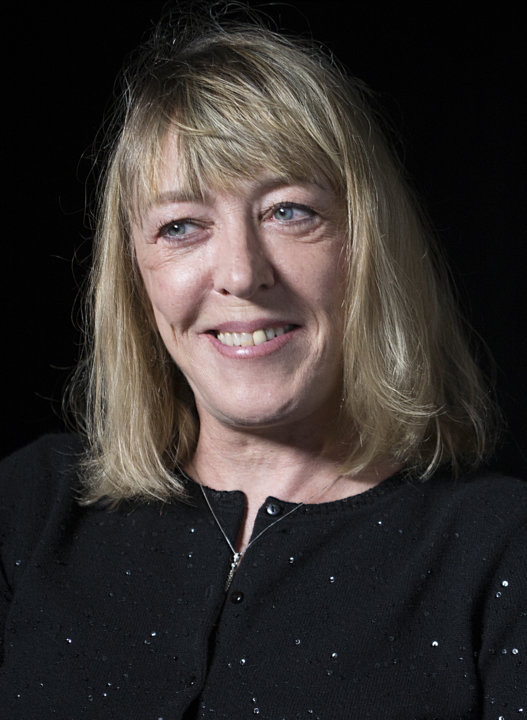 Portrait of Jody Williams during an interview at the Nobel Museum in Stockholm