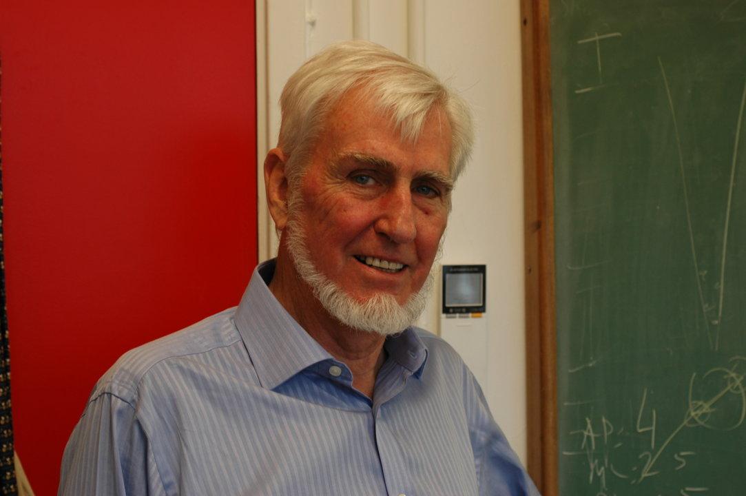 Portrait of John O'Keefe. Photo: Adam Smith. Copyright © Nobel Media AB 2014