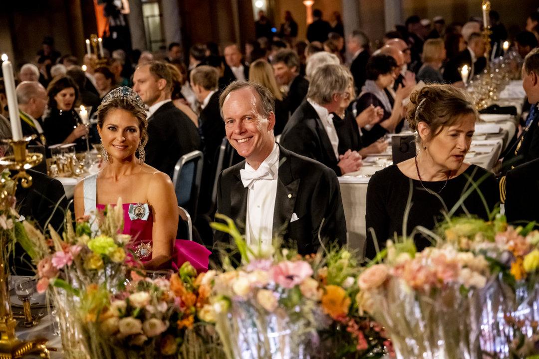 William G. Kaelin Jr at Nobel Banquet