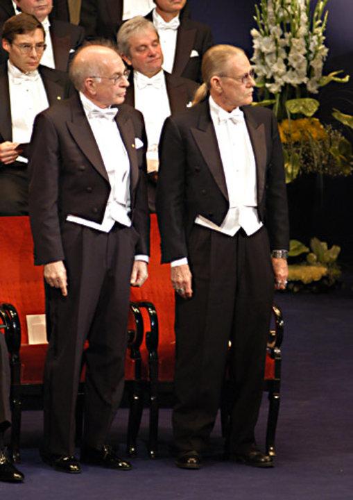 Daniel Kahneman and Vernon L. Smith