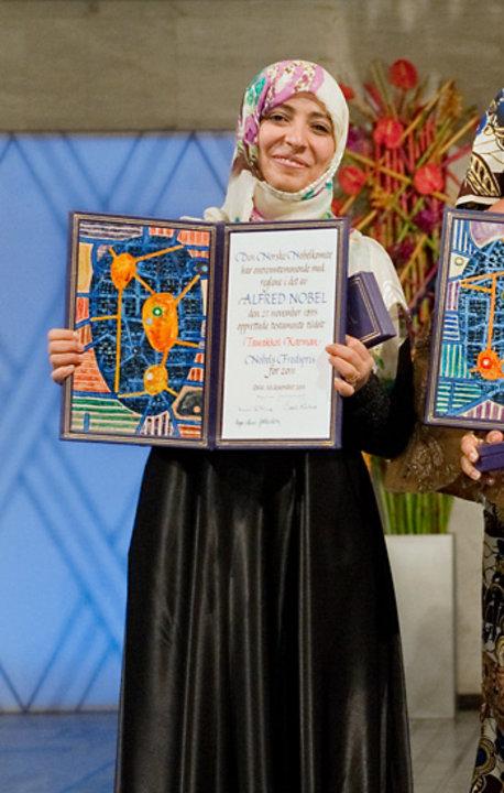 Tawakkol Karman, 2011