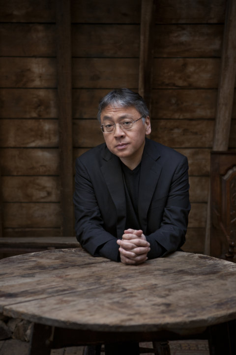 Portrait of Kazuo Ishiguro. Photo: Jeff Cottenden.