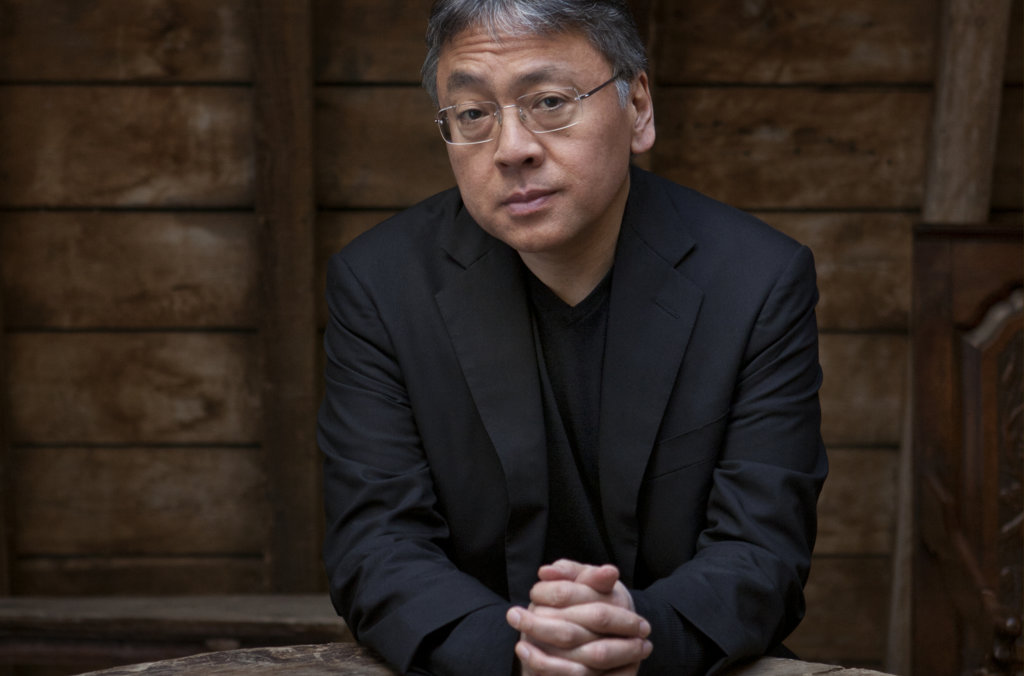Portrait of Kazuo Ishiguro. Photo: Jeff Cottenden.
