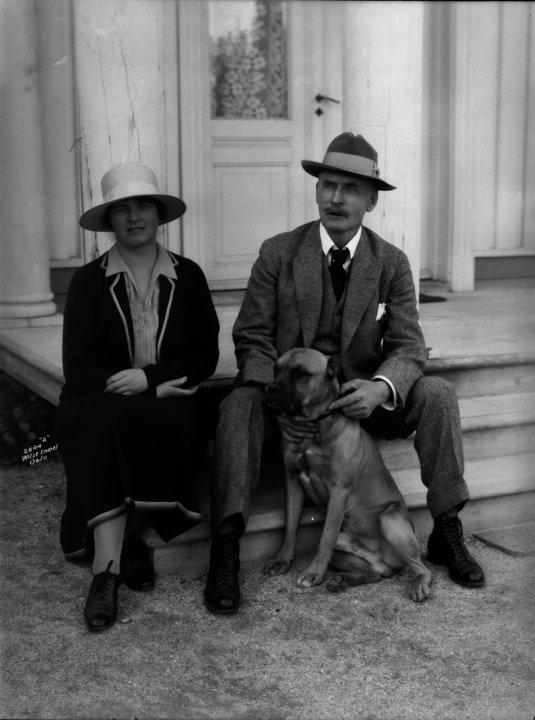 Marie and Knut Hamsun