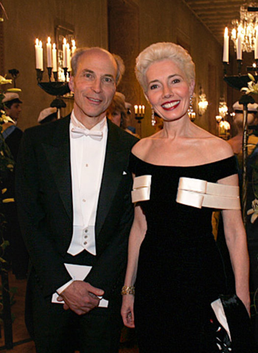 Kornberg and wife
