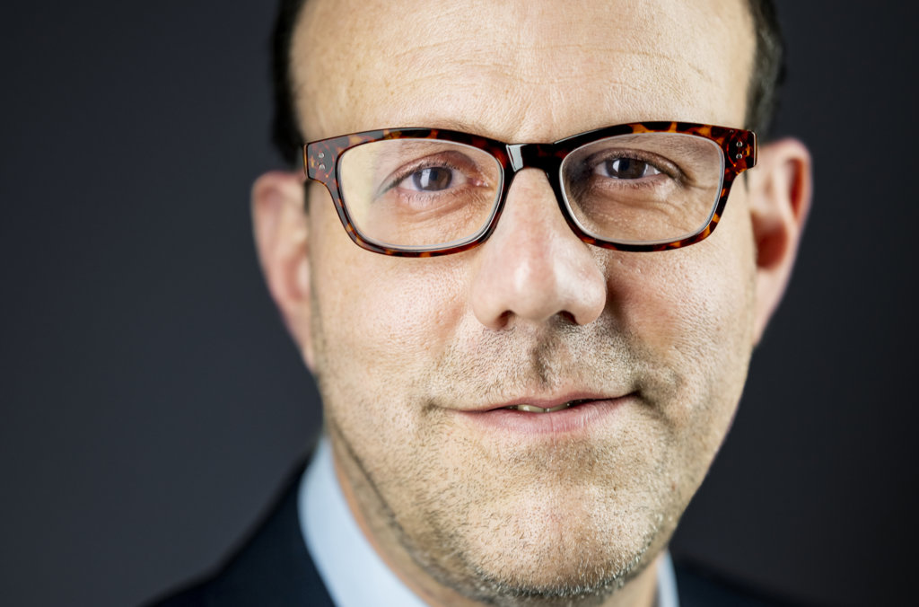 Michael Kremer official Nobel portrait