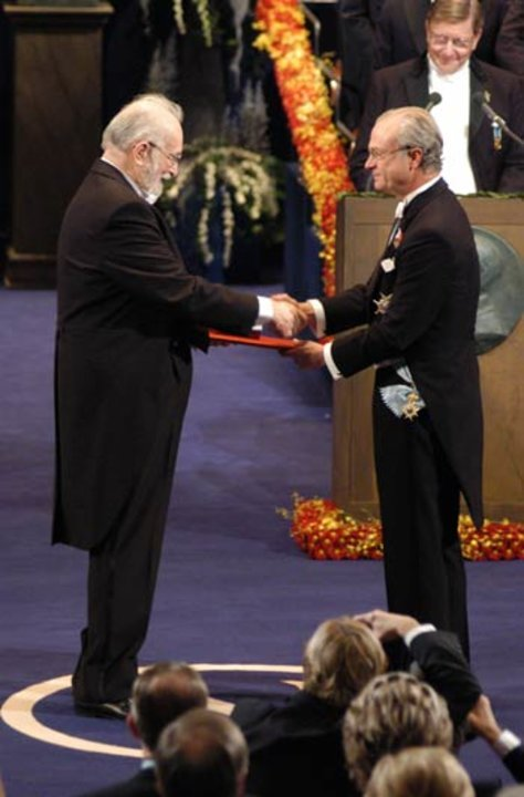 Paul C. Lauterbur and His Majesty the King