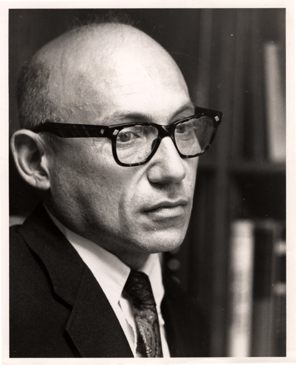 Portrait of Joshua Lederberg, 1962