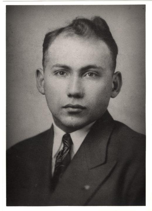 Portrait of Joshua Lederberg, 1945