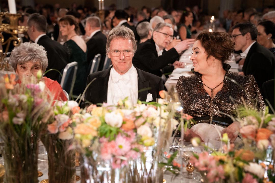 Sir Peter J. Ratcliffe at the Nobel Banquet
