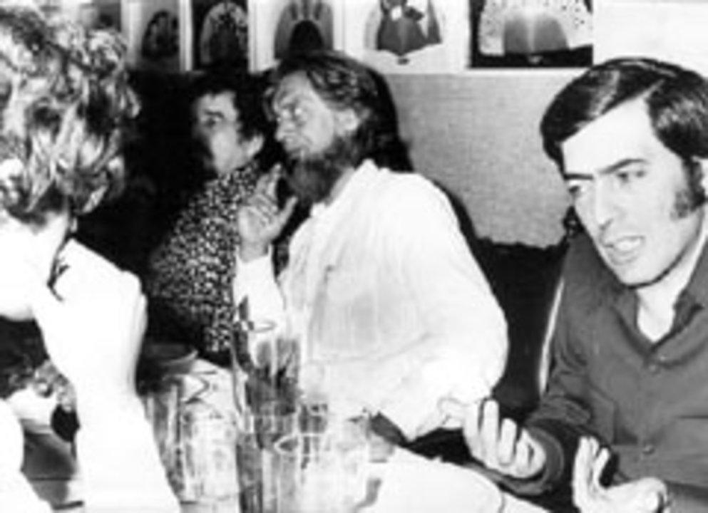 Mario Vargas Llosa and Gabriel García Márquez