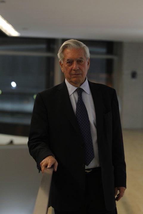Portrait of Mario Vargas Llosa